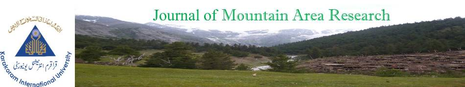 Journal of Mountain Area Research is the official journal of the Karakoram International University
